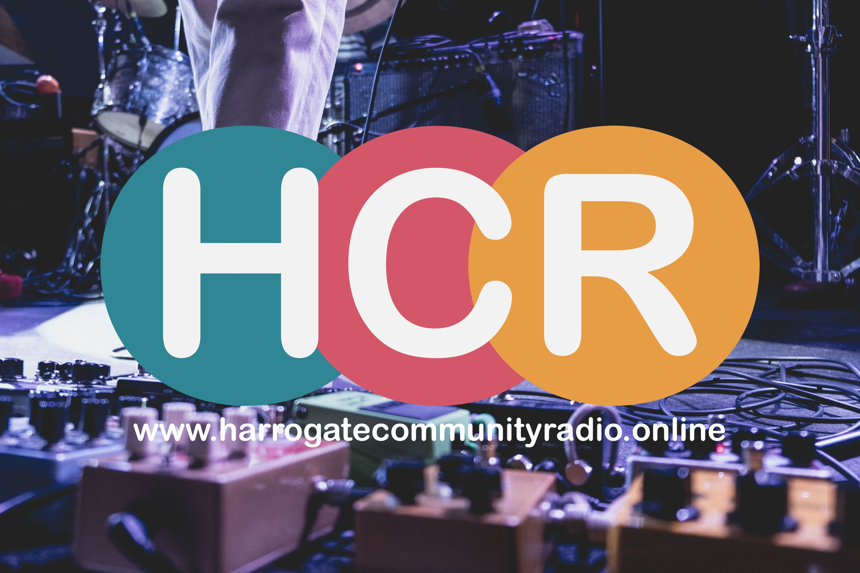 Harrogate Community Radio Logo