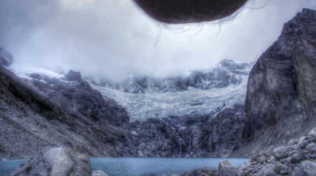 people are taking photos of their balls in front of beautiful locations